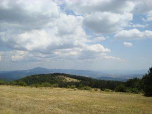 Nachmittags: Die baumlose Weite des Monte Calvano