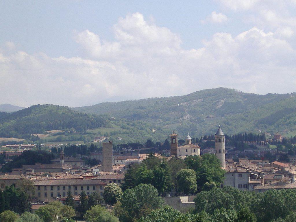 Mauern machen eine Stadt. Citta di Castello Von Adri08 - Eigenes Werk, CC BY-SA 3.0, https://commons.wikimedia.org/w/index.php?curid=4072909