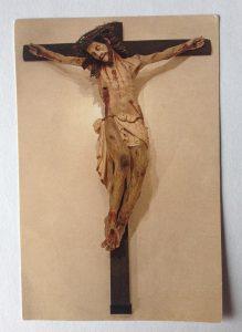 Frate Innocenzo da Palermo (1637) Crocefisso miracoloso Bild aus dem Gebetsbild, das ich 2012 in San Damiano geschenkt bekam