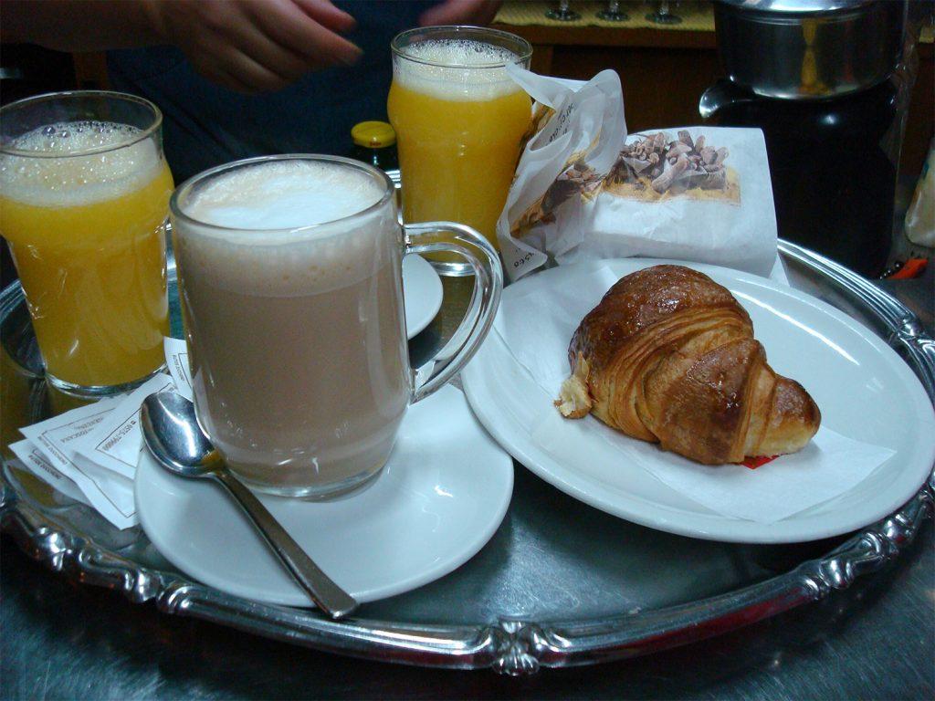 La piccola colazione – Bar Imperatore