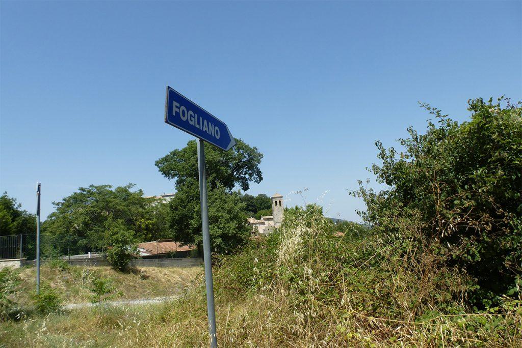 13:00 Uhr: Das schön gelegene Fogliano