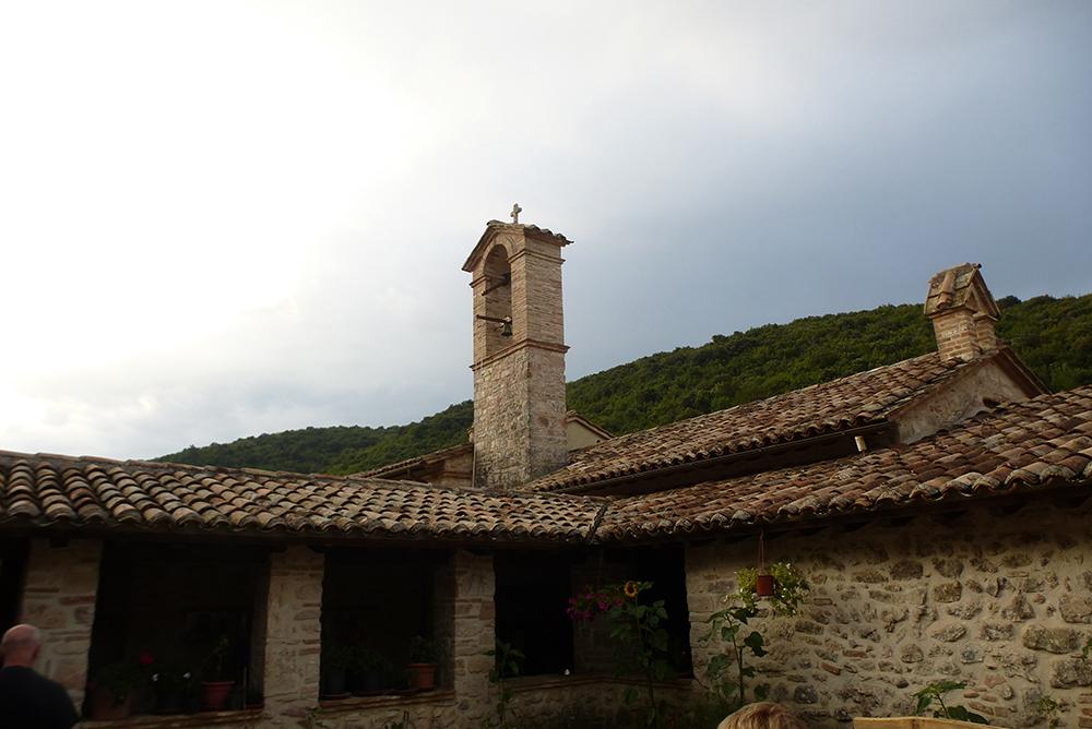 La Romita ist ein Ort der Stille und des Gebets