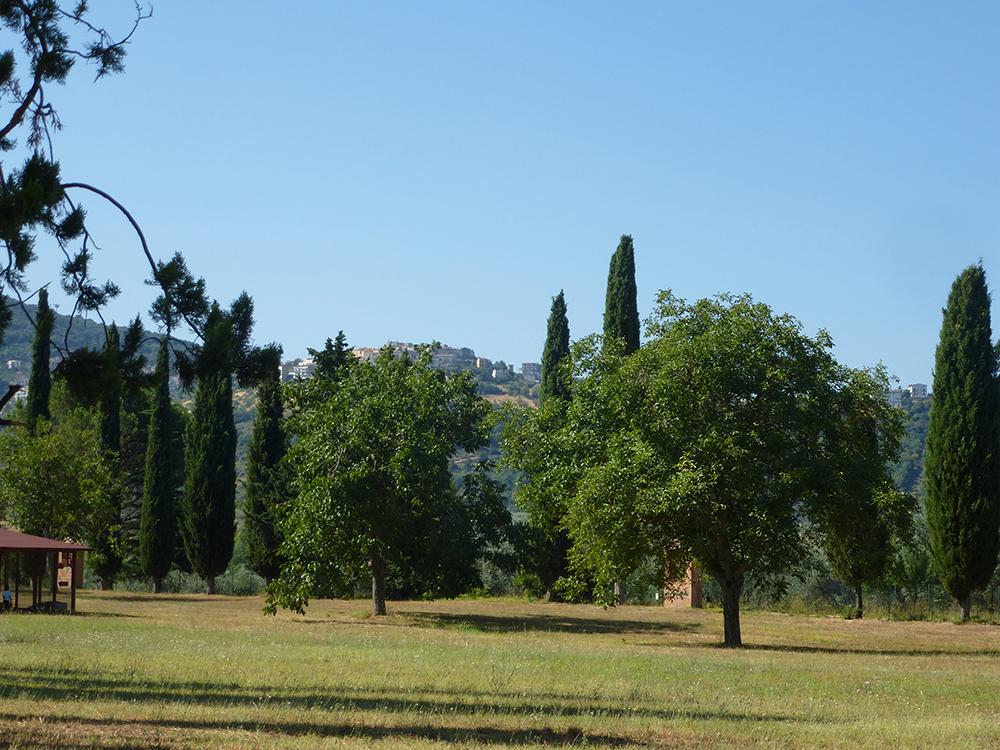 Ponticelli di Scandrigilia, aufgenommen am nächsten Morgen