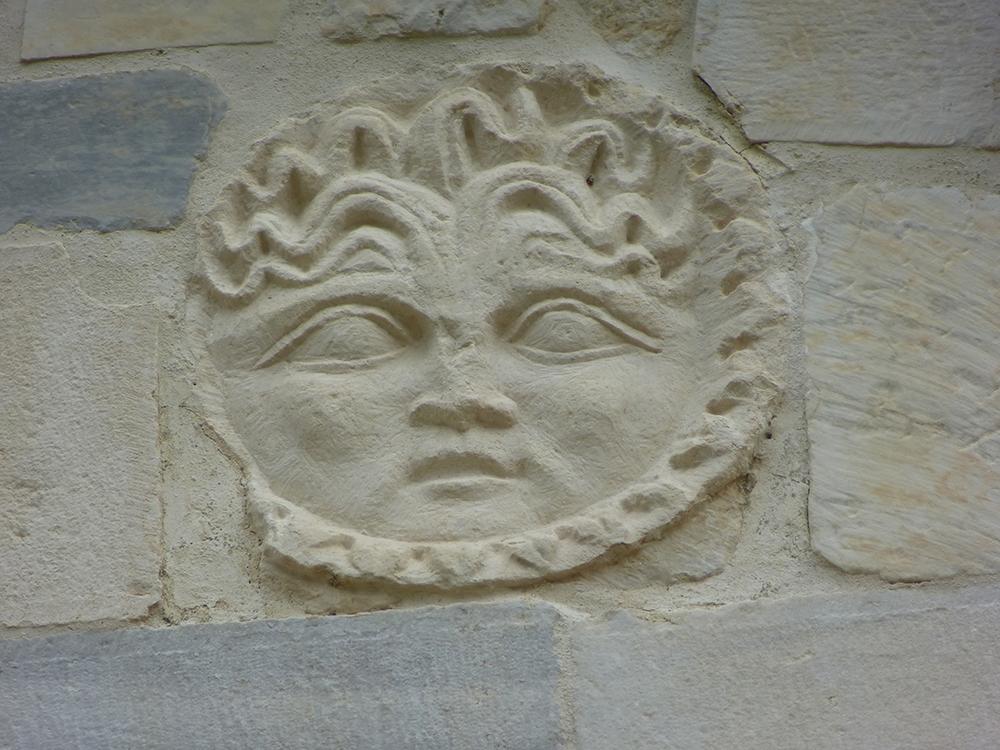 Ein schöner Tag: Detail aus der Chiesa Santa Vittoria