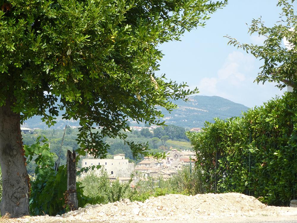 Blick auf Poggio Moiano