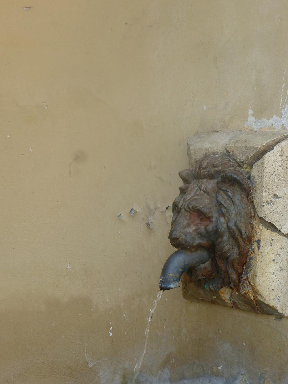Brunnen in Poggio Mirteto