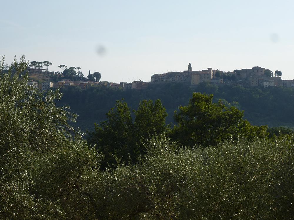 Montelibretti in den Monti Sabini, den Sabiner Bergen
